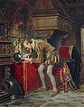 Kārlis Teodors Hūns - On the Eve of St. Bartholomew's Night (Ligist) - Google Art Project.jpg