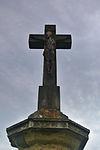 Kříž u silnice na Stařechovice, Služín, okres Prostějov (02).jpg