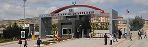 Kilis - Kilis 7 Aralık University Main Gate