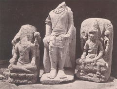 KITLV 87701 - Isidore van Kinsbergen - Hindu-Javanese sculptures from the Dijeng plateau - Before 1900.tif