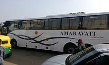 APSRTC Amaravati bus