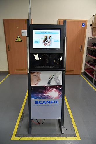 Suggestion box - Internet suggestion box for employees in a factory.