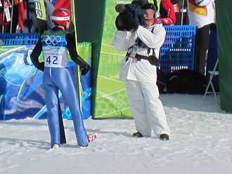 Kamil Stoch - Kamil Stoch at Olympic Games 2010