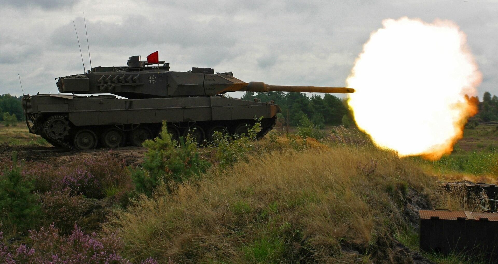 Т-72Б против Леопард 2