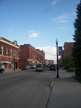 Kane, Pennsylvania - Downtown Kane