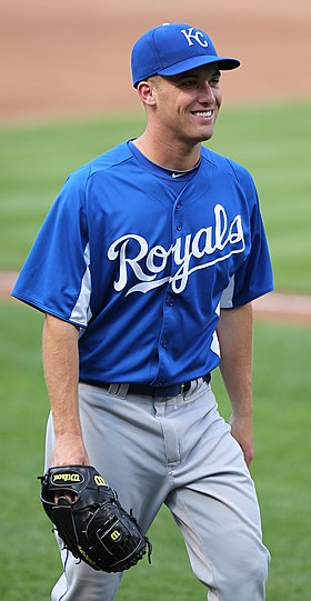 Kansas City Royals starting pitcher Danny Duffy (23) (5760918726).jpg