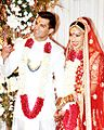 Karan Singh Grover and Bipasha Basu at their Wedding.jpg
