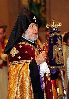 Catholicos of All Armenians Oriental Orthodox bishop