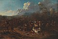 Karel Breydel - Cavalry Skirmish at a Fortress - KMS648 - Statens Museum for Kunst.jpg