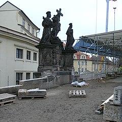 Karlův most - rekonstrukce 2007 - 3