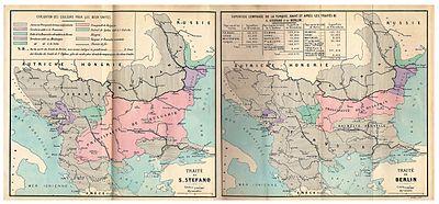 Karta Balkana 1878.Berlinski Sporazum 1878 Vikipediјa Slobodna Enciklopediјa