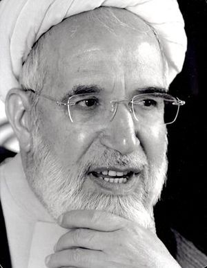 Iranian legislative election, 1988 - Image: Karubi 2