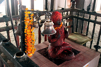 Kasthamandap - Gorakshanath shrine inside the Kasthamandap