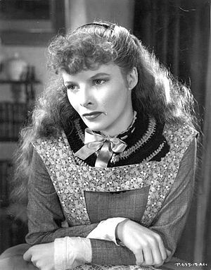 Belle (Disney) - American actress Katharine Hepburn's performance as Jo March in the film Little Women (1933) served as screenwriter Linda Woolverton's inspiration for Belle's personality.