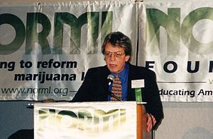 Keith Stroup - Keith Stroup speaks at 1998 NORML conference.