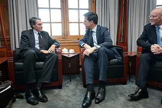 Human Rights Watch - Kenneth Roth and the Prime Minister of the Netherlands, Mark Rutte, 2 February 2012