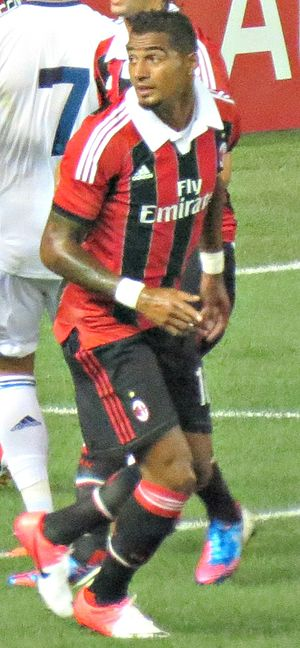 Kevin-Prince Boateng - Boateng playing for Milan in 2012