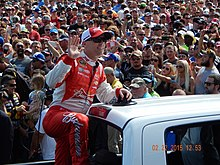 Kevin Harvick at the Daytona 500.JPG