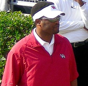2008 Houston Cougars football team - Kevin Sumlin, Cougars head coach