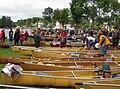 Kevlar racing canoes, Adirondack Canoe Classic.jpg