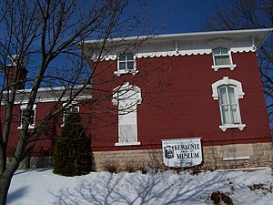 National Register of Historic Places listings in Kewaunee County, Wisconsin - Image: Kewaunee County Sheriff House And Jail