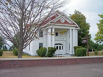 Keweenaw County, Michigan - Image: Keweenaw County Courthouse