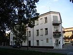 הבניין בקיילצה שבפולין, בו נערך הפוגרום