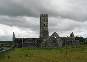 Kilconnell - The Abbey in 2008