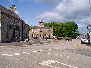 Kintore, Aberdeenshire Human settlement in Scotland