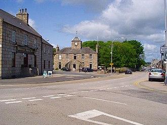 Kintore, Aberdeenshire - Image: Kintore Town Centre geograph.org.uk 15863