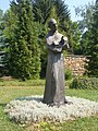 Kip sv. Frane u klaustru samostana u Gučoj Gori - panoramio.jpg