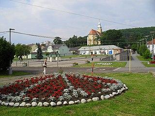 Kráľovský Chlmec Town in Slovakia