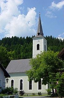Dellach Place in Carinthia, Austria