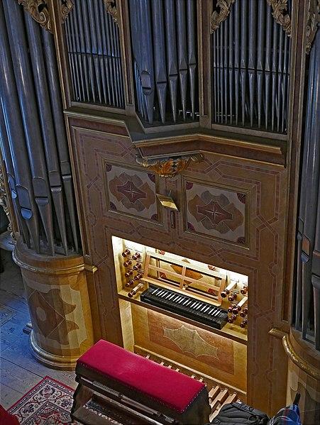 Datei:Kirche St Georg Pfaffroda Silbermannorgel 07.jpg