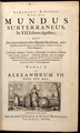 Kircher, Athanasius — Mundus Subterraneus — Title page — 1664.tif