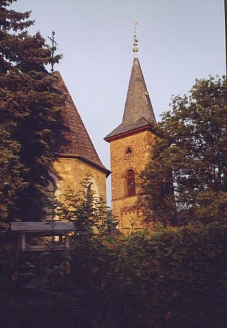 Welgesheim - Image: Kirchturm ev. Kirche Welgesheim