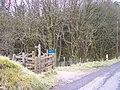 Kissing Gate and Finger Post for Trentabank - geograph.org.uk - 751174.jpg