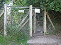 Kissing Gate on Deer Park Fence - geograph.org.uk - 1451439.jpg