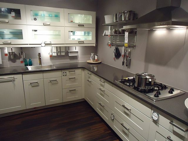 Kitchen Cabinet Compartment Design