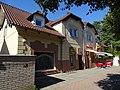 Klánovice, Slavětínská čp. 11, antik U Besedy, cukrárna Junior Café.jpg