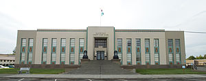 National Register of Historic Places listings in Klickitat County, Washington - Image: Klickitat County Court House in Goldendale WA
