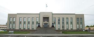 Goldendale, Washington - The Klickitat County Court House