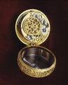 Klocka, T Tompion, ca 1680 - Livrustkammaren - 56163.tif