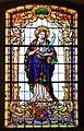Kościół Opatrzności Bożej w Jaworzu (witraż 2).JPG