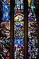 Koekelberg Basilique Nationale Sacré-Coeur Innen Ostfenster 2.jpg