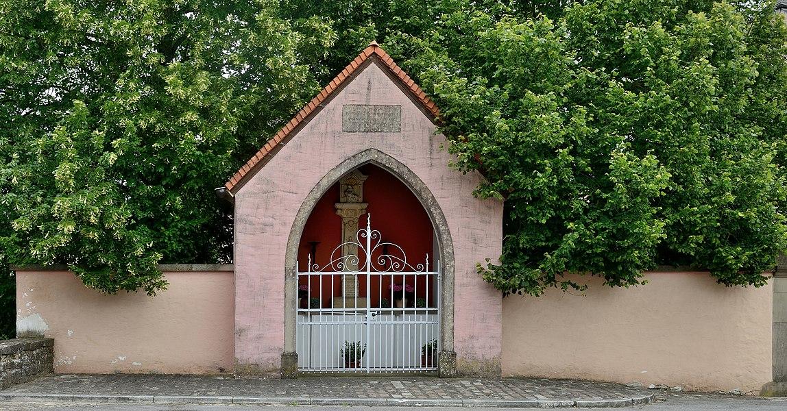 Chapel in Koerich, Luxembourg.