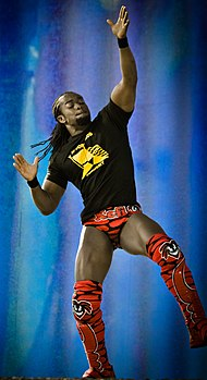 Kofi Kingston nel 2010