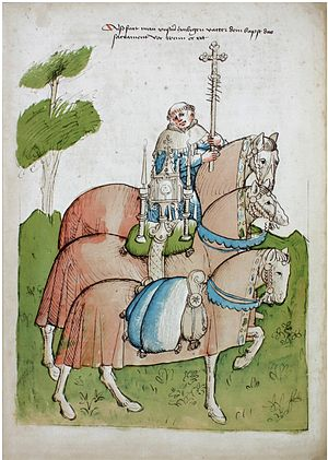 Ulrich of Richenthal - Image from the Chronicle of the Council of Constance by Ulrich of Richenthal