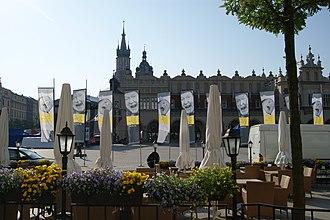 Kraków Film Festival - Image: Krakow Film Festival 2011, banners, Main Market Square, Krakow, Poland