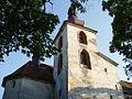 Kralovice, kostel sv. Petra a Pavla, věž - detail.JPG